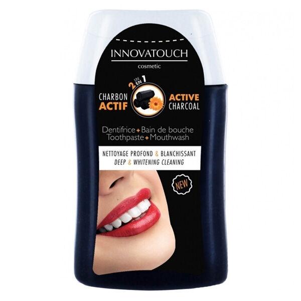 Innovatouch 2 en 1 Dentifrice + Bain de Bouche Charbon Actif 100ml