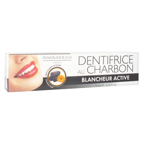 Innovatouch Dentifrice au Charbon Blancheur Active 75ml