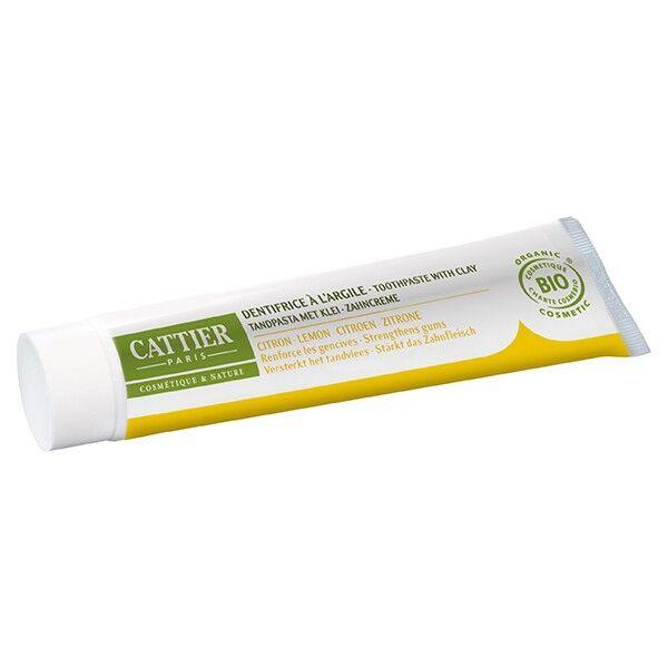 Cattier Dentifrice Dentargile Citron 75ml