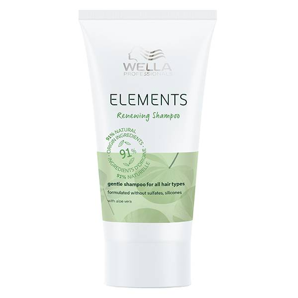 Wella Professionals Elements Shampoing Régénérant 30ml