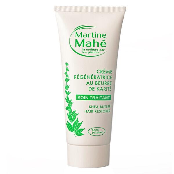 Martine Mahé Soin Traitant Crème Régénératrice au Beurre de Karité Cheveux Très Secs 100ml