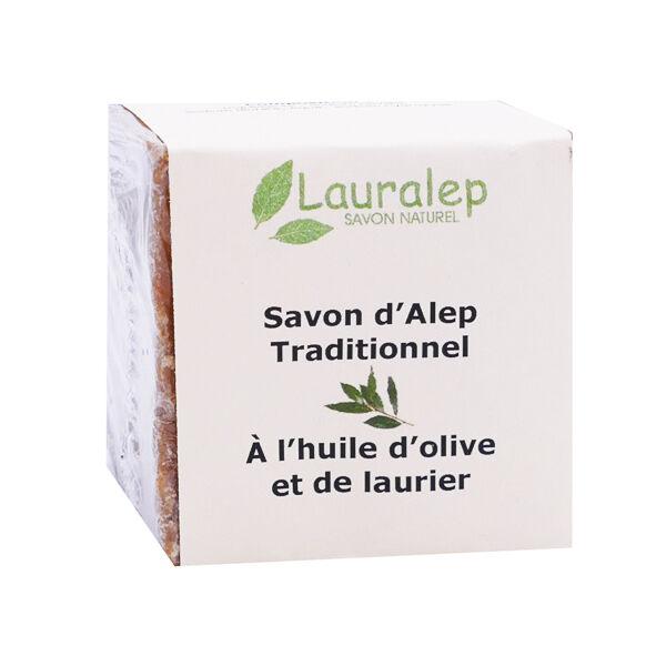 Lauralep Savon d'Alep Traditionnel Huile de Laurier 200g