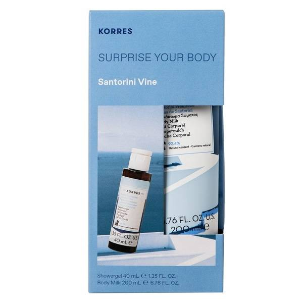 Korres Coffret Surprise Vignes de Santorin Your Body
