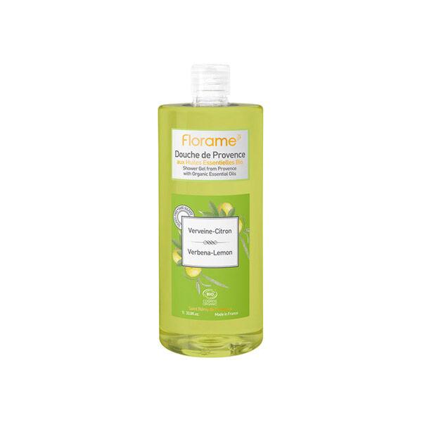 Florame Gel Douche de Provence Verveine Citron Bio 1L