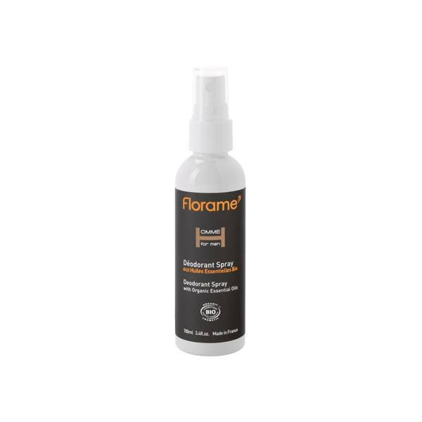 Florame Homme Déodorant Spray Bio 100ml