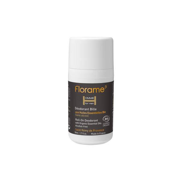 Florame Homme Déodorant Bille 50ml