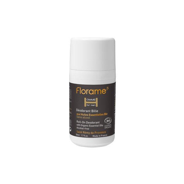 Florame Homme Déodorant Bille Bio 50ml