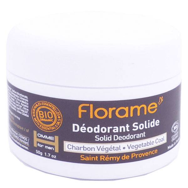 Florame Homme Déodorant Solide Bio 50g