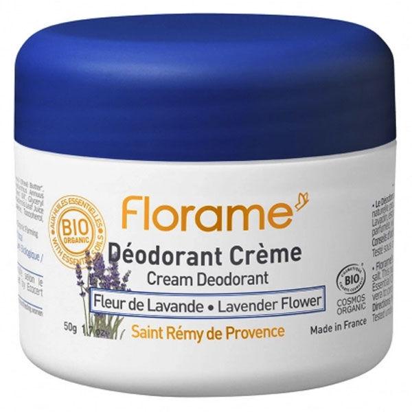 Florame Déodorant Crème Fleur de Lavande 50g