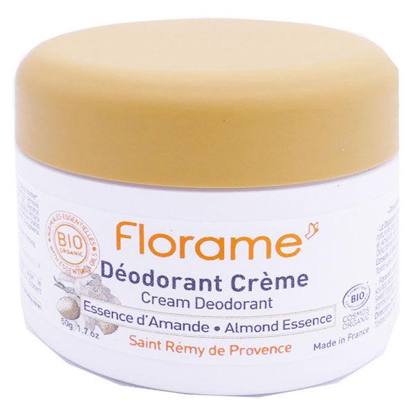 Florame Corps Déodorant Crème Essence d'Amande 50g