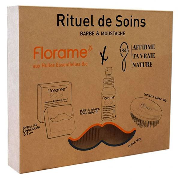Florame Coffret Rituel de Soins Barbe & Moustache