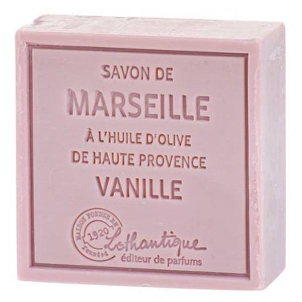 Lothantique Les Savons de Marseille Savon Solide Vanille 100g