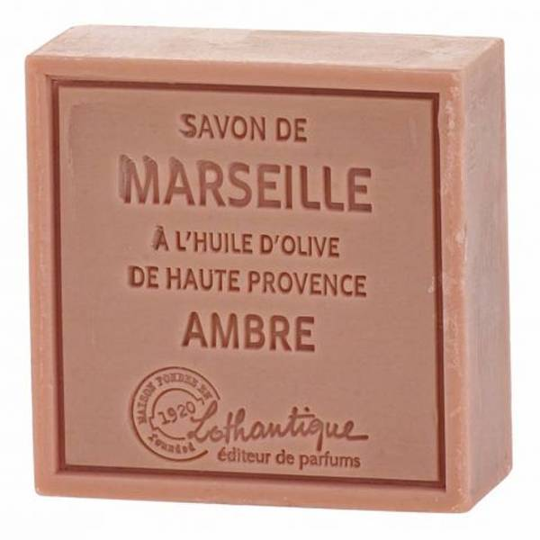 Lothantique Les Savons de Marseille Savon Solide Ambre 100g