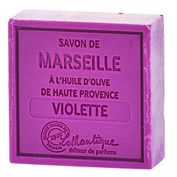 Lothantique Les Savons de Marseille Savon Solide Violette 100g