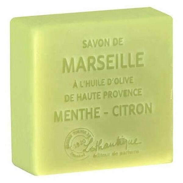 Lothantique Les Savons de Marseille Savon Solide Menthe Citron 100g