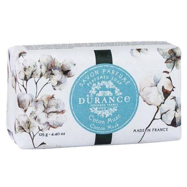 Durance Coton Musc Savon Parfumé 125g