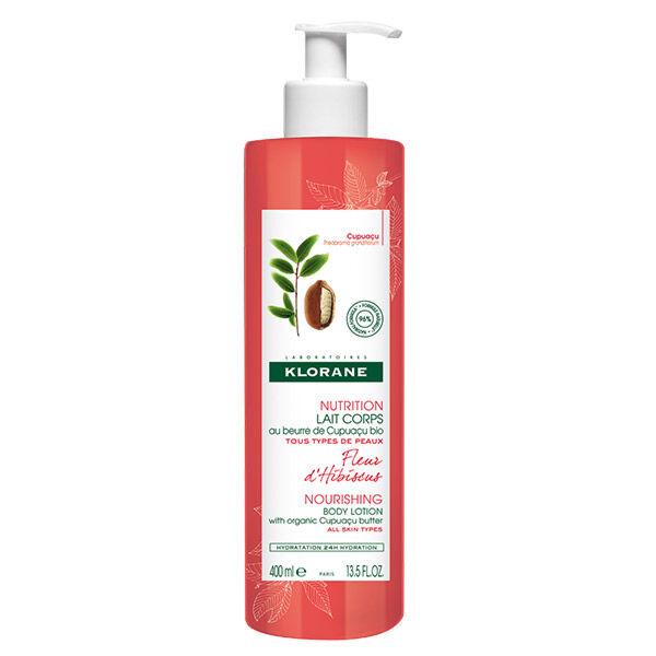Klorane Beurre de Cupuaçu Lait Hydratant Parfum Fleur d'Hibiscus 400ml