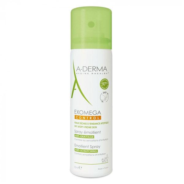 Aderma Exomega Control Spray Emollient Anti-Grattage 50ml