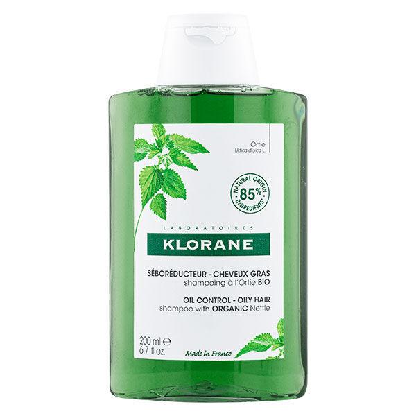 Klorane Ortie Shampooing Séboréducteur 200ml