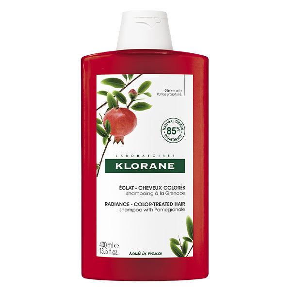 Klorane Grenade Shampooing Eclat Cheveux Colorés 400ml