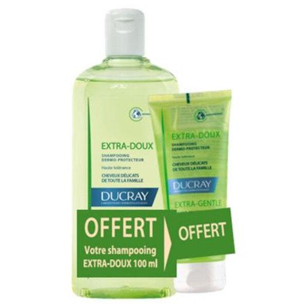 Ducray Extra Doux Shampooing 400ml + 100ml Offert