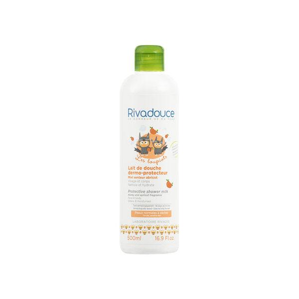 Rivadouce Lait de Douche Dermo-Protecteur Miel Abricot 500ml