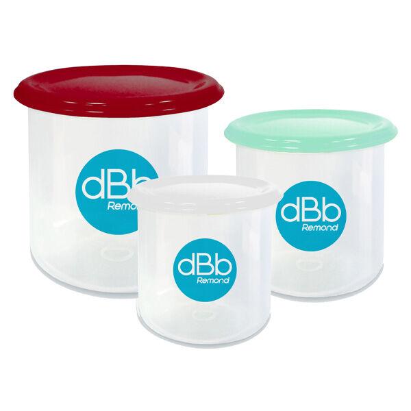 dBb Remond Trio Conservation Rouge 3 Pots