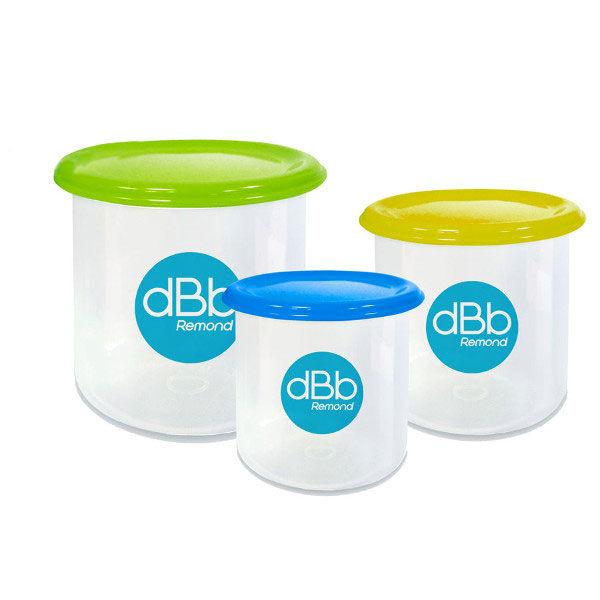 dBb Remond Trio Conservation Vert 3 Pots