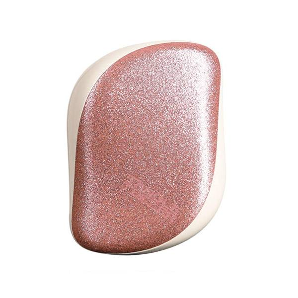 Tangle Teezer Brosse à Cheveux The Compact Styler Rose Gold Glitter