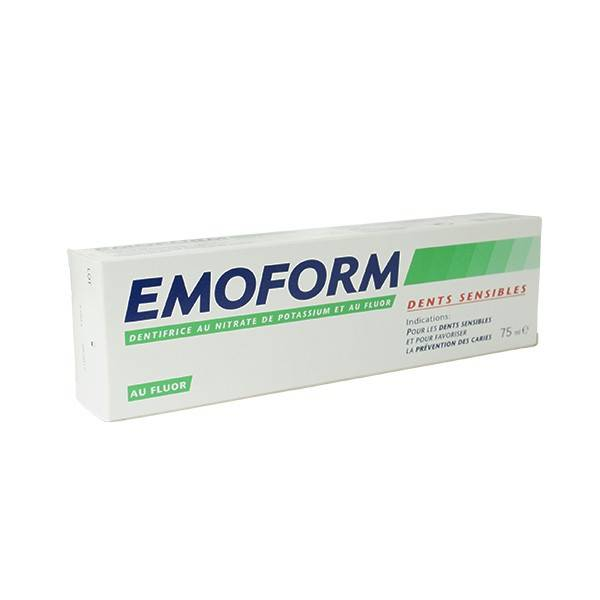 Emoform Dentifrice Dents Sensibles (Fluor) 75ml