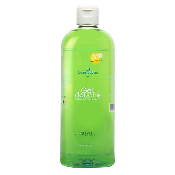 Beautyderm Gel Douche à l'Aloe Vera 750ml
