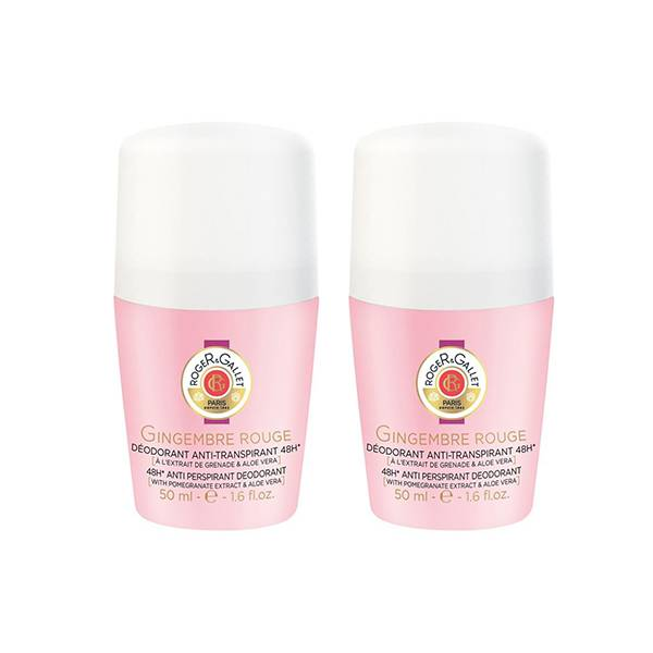 Roger & Gallet Gingembre Rouge Déodorant Roll-on Lot de 2 x 50ml