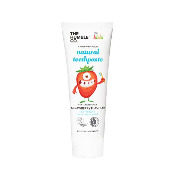 Humble Dentifrice Vegan Enfants Fraise 75ml