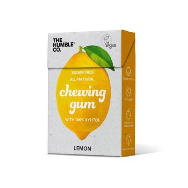 Humble Chewing Gum Vegan Cruelty Free Citron 10 unités