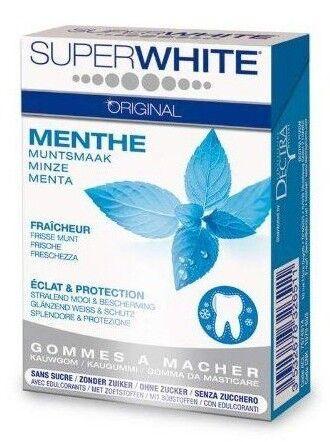 SuperWhite Original Chewing-Gum boite de 20