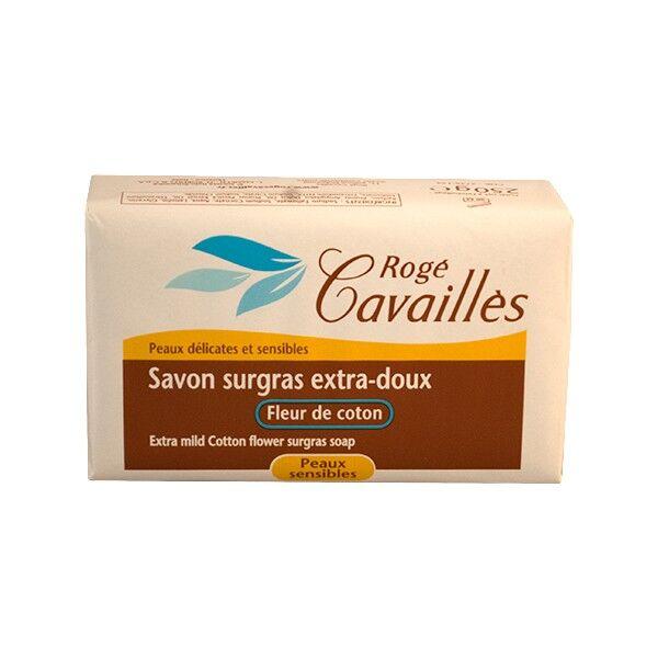 Rogé Cavaillès Savon surgras Extra Doux Fleur de Coton 250g