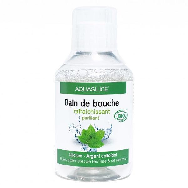 Aquasilice Bain de Bouche Rafraîchissant Purifiant Bio 200ml