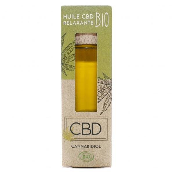 CBD Huile Relaxante Bio 30ml