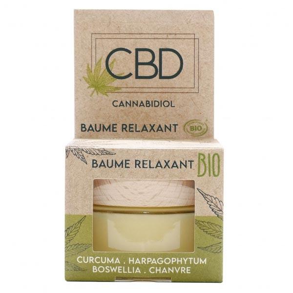 Nutrivie CBD Baume Relaxant Bio 30ml