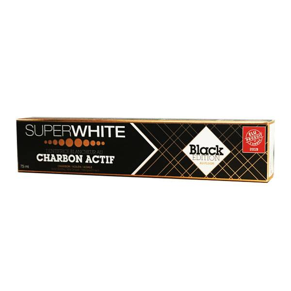 SuperWhite Dentifrice Charbon Actif 75ml