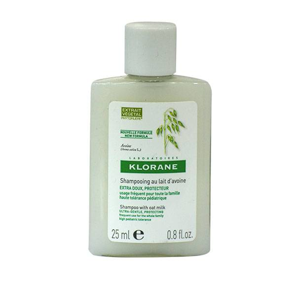 Klorane Lait d'Avoine Shampooing Extra-Doux 25ml