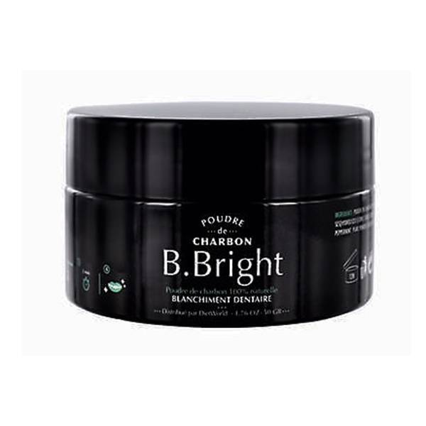 Diet World B Bright Poudre de Charbon Blanchiment Dentaire 50g