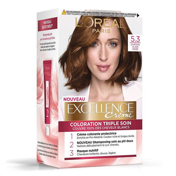 L'Oréal Paris L'Oréal Excellence Coloration Châtain Clair Doré 5.3