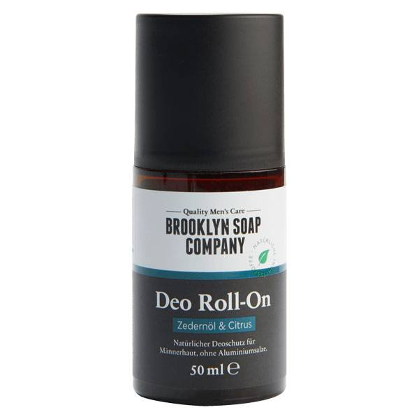 Brooklyn Soap Company Déodorant Roll-on Cèdre Agrumes 50ml