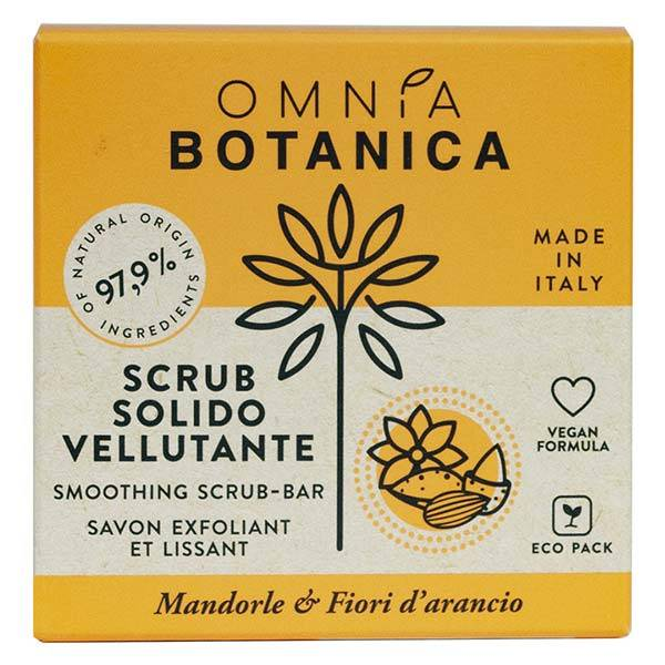 Omnia Botanica Amande & Fleur d'Oranger Gommage Solide Velouté 200g