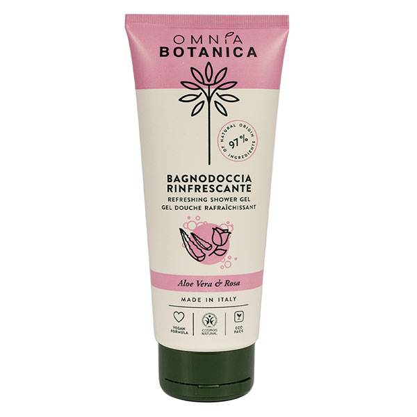 Omnia Botanica Aloe Vera & Rose Gel Douche Rafraîchissant 200ml