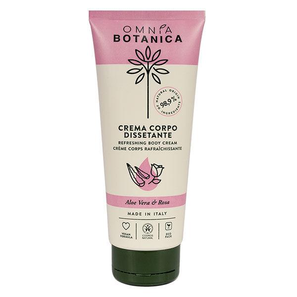 Omnia Botanica Aloe Vera & Rose Crème Corps Rafraîchissante 200ml