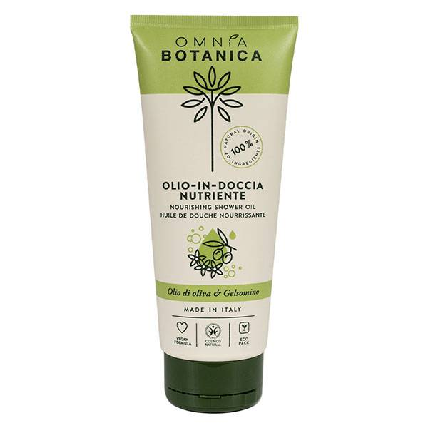 Omnia Botanica Huile d'Olive & Jasmin Huile de Douche Nourrissante 200ml