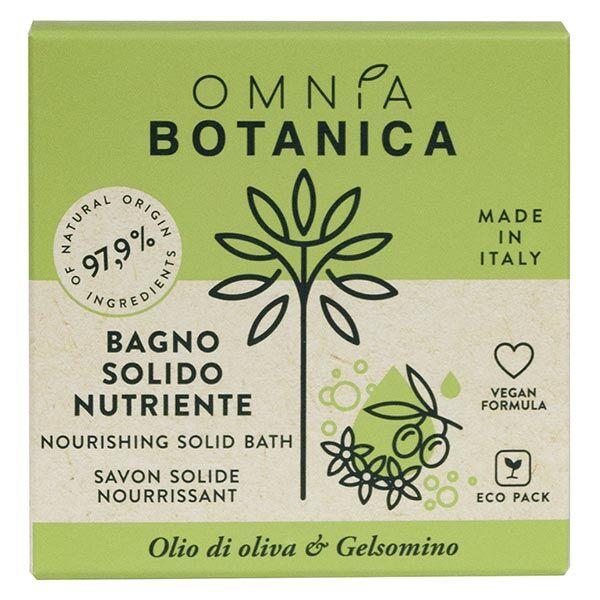 Omnia Botanica Huile d'Olive & Jasmin Savon Solide Nourrissant 100g
