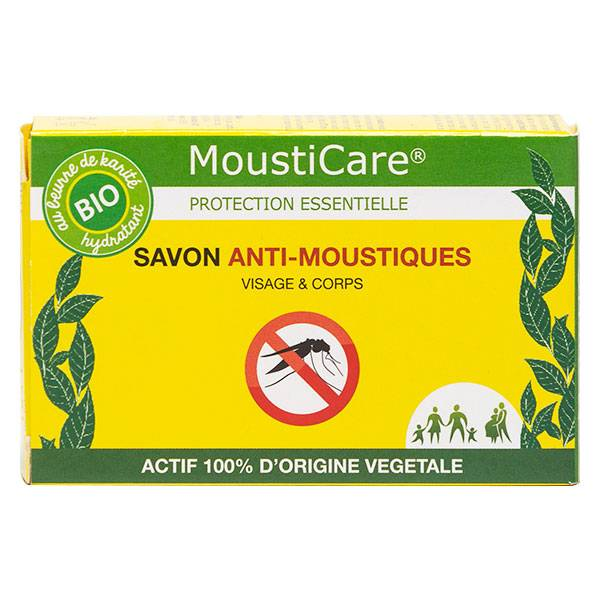 Mousticare Savon Anti-Moustiques Bio 100g
